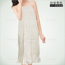 平口美容衣裙-單件(鬆緊帶)SPA按摩[58791]