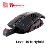 Tt eSports 曜越 Level 10M HYBRID 進階版 有線/無線 雙模 雷射引擎電競滑鼠 MO-LTM-HYLOBK-01