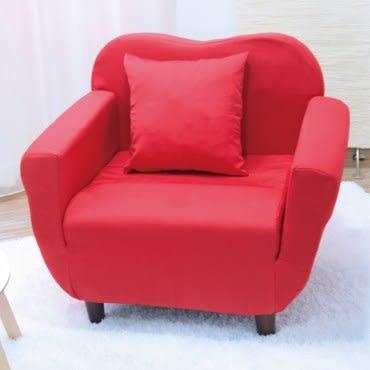 伊登 嘉伯爾 單人沙發椅(紅)
