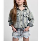 ONETEASPOON 童裝- KIDS 牛仔短褲BONITA-(灰藍)