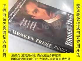 二手書博民逛書店Broken罕見Trust(Previously titled:Court of Honor)【36開 英文原版】