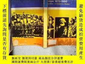 二手書博民逛書店EUROPE罕見1870-1960 歐洲1870-1960 02