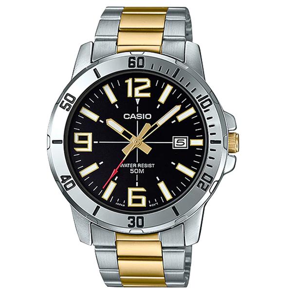 CASIO 卡西歐 手錶 專賣店 MTP-VD01SG-1B 指針 男錶 不鏽鋼錶帶 日常生活防水 MTP-VD01SG
