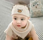嬰兒帽子夏季薄款0-3-12個月新生兒護囟門鹵門帽寶寶空頂涼帽胎帽 歐韓流行館