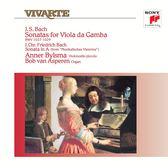 【停看聽音響唱片】【黑膠LP】巴哈:三首古大提琴奏鳴曲/畢爾斯瑪(五弦大提琴)、亞斯培倫(鋼琴)