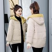 羽絨棉服女短款冬季新款韓版ins面包服棉襖寬鬆加厚棉衣外套