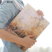 A4活頁夾韓國手賬本活頁筆記本學生文具創意日記記事本小清新B5A5【櫻花本鋪】