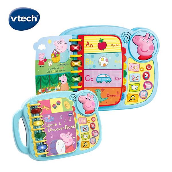 Vtech 粉紅豬小妹-字母故事啟蒙學習書