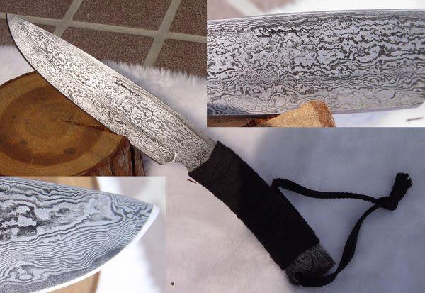 郭常喜與興達刀具--郭常喜限量手工刀品-小獵刀(A0048)