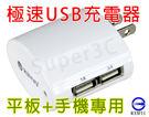新竹※超人3C※ KINYO CUH-22 極速USB充電器【1A+3A雙輸出】AC轉USB充電轉換器