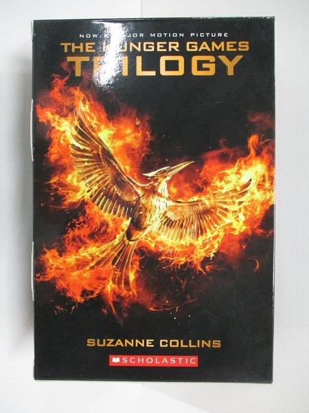 【書寶二手書T4/原文小說_BO8】The Hunger Games Trilogy Asia Version 2016 Edition_Suzanne Collins