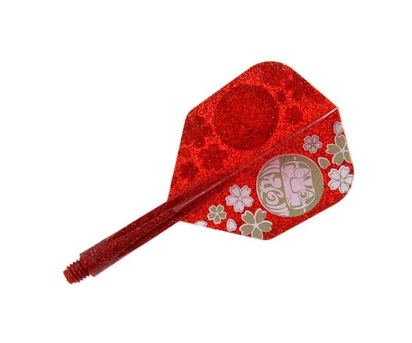 【CONDOR】 DARUMA Migo Wong Model Small Short Lame Red 鏢翼 DARTS