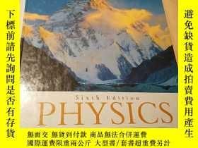 二手書博民逛書店Giancoli罕見Physics principles wit
