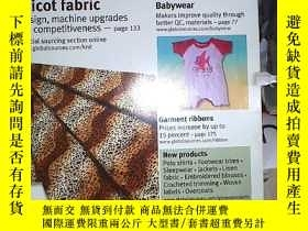 二手書博民逛書店global罕見sources Garments & Textiles 2005 11 全球資源服裝與紡織品200