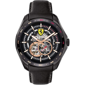 Scuderia Ferrari 法拉利 鏤空機械錶-44mm FA0830688