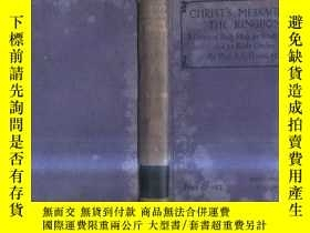 二手書博民逛書店1915年英文原版CHRIST,S罕見MESSAGE OF TH
