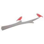《享亮商城》NO.00447-OR 白橡樹枝+橘色布穀鳥 鳥語樹梢磁鐵組 ABEL