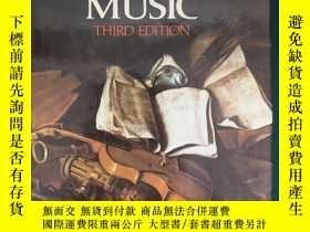 二手書博民逛書店A罕見History of Western Music【西方音樂