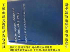 二手書博民逛書店Marriage罕見and Adoption in China,