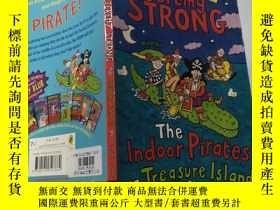 二手書博民逛書店the罕見indoor pirates on treasure island:金銀島上的室內海盜。.Y2003