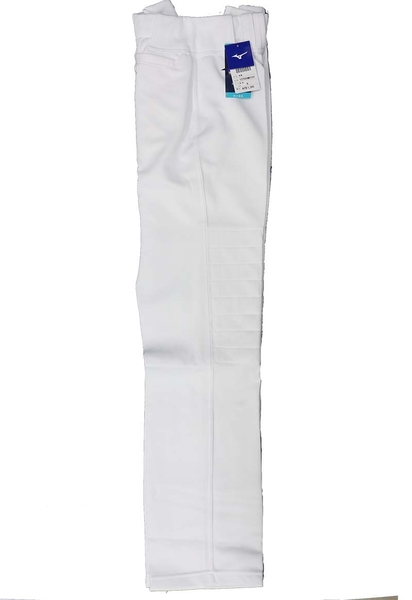 (B7)MIZUNO 美津濃 棒壘褲(全長寬褲口型) 棒球褲壘球褲 12TD0M0101白 兩膝補強設計[陽光樂活=]
