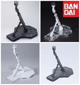又敗家@日本萬代BANDAI鋼彈支架1/144比例BASE 1陳列架展示平台RG鋼彈架SD鋼彈模型架R3腳架地台