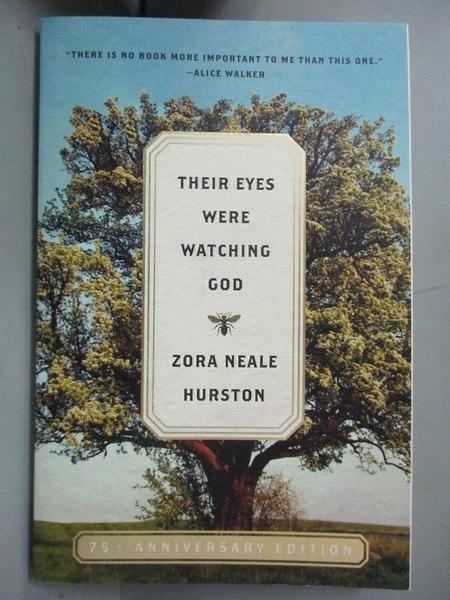 【書寶二手書T1/宗教_NDG】Their Eyes Were Watching God_Zora Neale Hurston