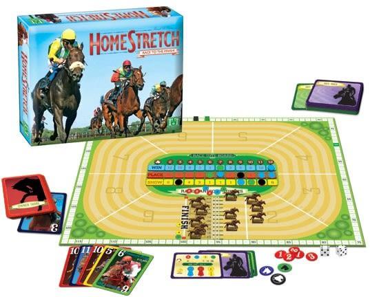 [楷樂國際] 最後衝刺 Homestretch #R&R Games 桌遊 賽馬 模型