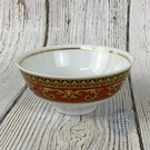 BRAND楓月 VERSACE 凡賽斯 經典 紅色 巴洛克 圖紋 瓷碗 餐具