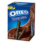 奧利奧捲心酥-巧克力口味216g【愛買】