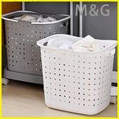 洗衣籃塑料臟衣籃洗衣籃臟衣服收納筐家用放衣服籃臟衣簍浴室裝衣婁籃框