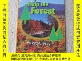二手書博民逛書店People罕見Help the Forest(Science
