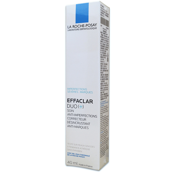《公司貨可積點》理膚寶水淨痘無瑕極效精華 淨痘無瑕調理精華 Effaclar Duo+ 40ml PG美妝