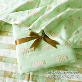 全棉6層紗布柔軟嬰兒浴巾初生兒包被秋冬空調蓋毯吸水