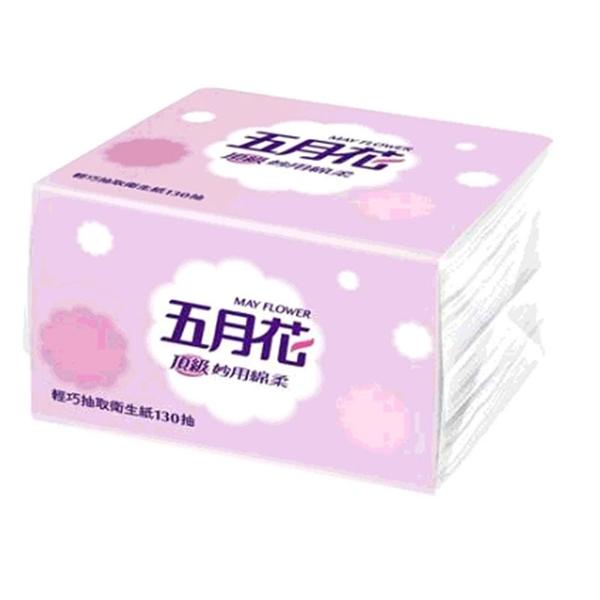 [COSCO代購] W87901 五月花 妙用綿柔抽取衛生紙 輕巧包 130抽 X 36入 3組入