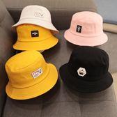 (交換禮物)兒童帽子春秋季0-1歲2男童漁夫帽3嬰兒寶寶小孩6女童潮韓版4秋款5