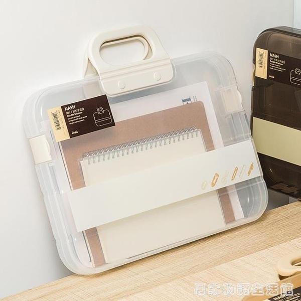 文件袋透明塑料防水孕婦媽媽孕檢產檢報告單子檔案資料收納袋居家物語