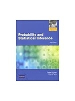 二手書博民逛書店 《Probability and Statistical Inference(Included CD-ROM) 8/e》 R2Y ISBN:032163635X│Hogg
