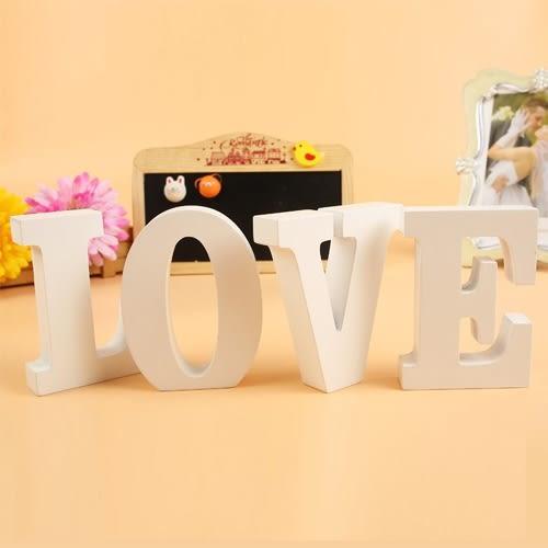 【超取199免運】Diy木質LOVE英文字母 家居創意擺件 婚慶裝飾擺設 壁飾 拍攝道具