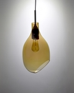 VESSEL 斜口玻璃琥珀色吊燈-BNL00126