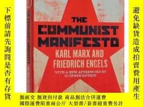 二手書博民逛書店共產黨宣言罕見英文原版 The Communist Manife
