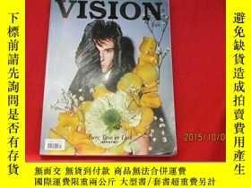 二手書博民逛書店VISION罕見青年視覺 (2009年7)銅版紙Y23042 青