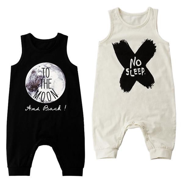 無袖連身衣 英文字母 寶寶兔裝 背心連身裝 SK059 好娃娃