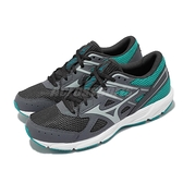 Mizuno 慢跑鞋 Spark 6 灰 綠 美津濃 路跑 女鞋 入門款 運動鞋 【ACS】 K1GA2104-23