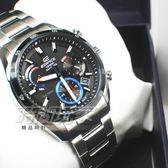 EDIFICE EFB-510JDB-1A 公司貨 日本生產製造 三眼設計 男錶 計時碼錶 EFB-510JDB-1AVDR CASIO卡西歐
