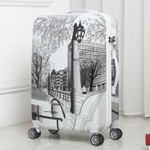 卡通學生旅行箱萬向輪行李箱男女pc密碼兒童拉桿箱包24寸潮20鏡面