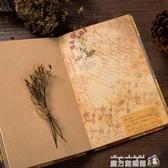好看的筆記本本子創意 復古內頁有圖案插畫手賬本日系個性歐式韓 魔方數碼館
