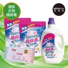 摩達客-芊柔清除腸病毒清潔全餐組合(2KG單瓶*1+補充包1KG*2+PLUS抗白色念珠菌濕紙巾80抽*1)