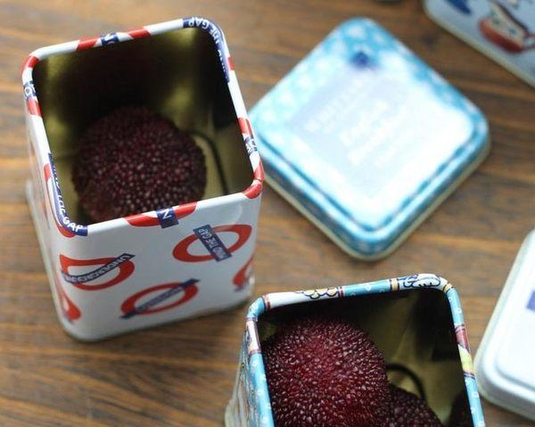 [協貿國際]方形鐵盒茶葉盒 4個價