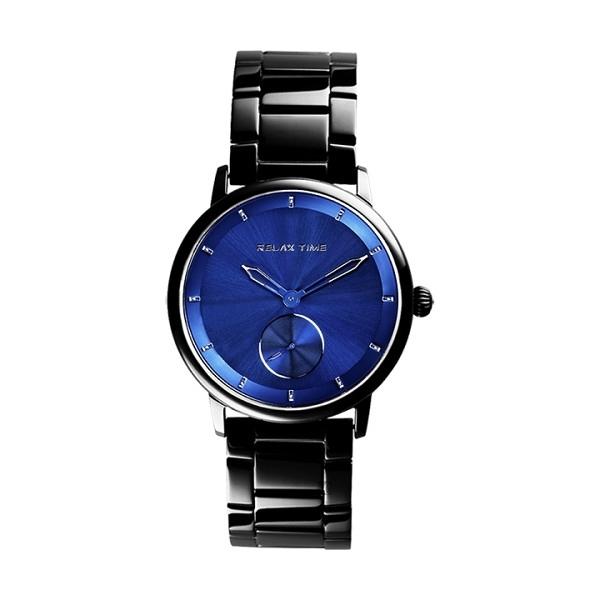 【Relax Time】Floating漂浮系列現代簡約時尚腕錶-藍面款/RT-83-6/台灣總代理公司貨享一年保固